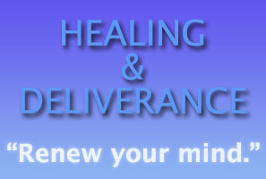 Healing & Deliverance graphic