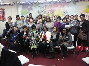 Vera Moore and Women2Women Group Photo