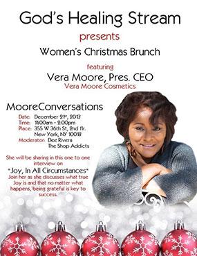 Vera Moore Church Flyer